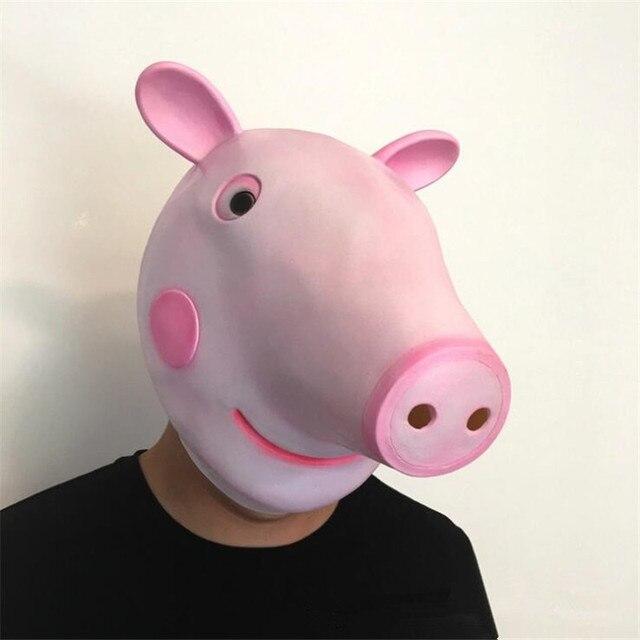 Маска Свинка Пеппа 2