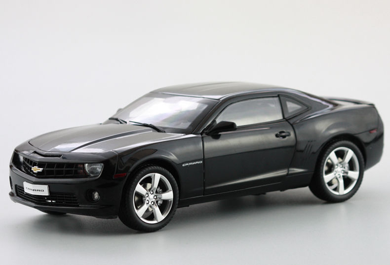 1:18 Diecast Model for Chevrolet Chevy Camaro Black Alloy Toy Car Collection Gifts Bumblebee cheverolet monza ixo chevrolet car 1 43 model