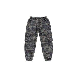 Image 5 - Abesay Herbst Camouflage Hose Für Jungen Casual Jungen Hosen Lose Kinder Hosen Winter Teenager Jungen Kleidung 6 8 12 Jahre