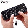 IPazzPort KP-810-19S Русский/Английская Версия 2.4 Г Мини беспроводная клавиатура Супер Чувствительность Multi-Touch Keyboard Для PC TV