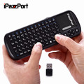 iPazzPort KP-810-19S Russian/English Version 2.4G Mini wireless keyboard Super Sensitivity Multi-Touch Keyboard For PC TV