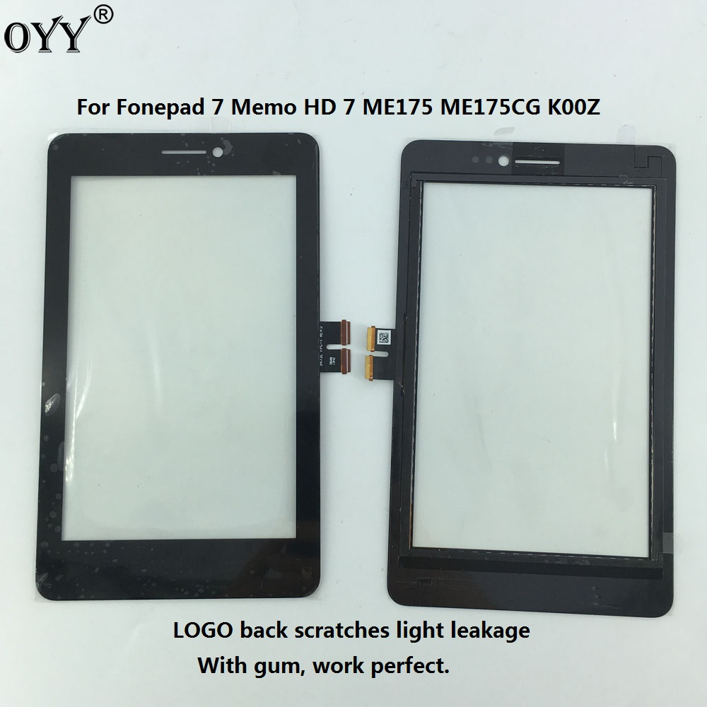 5472L FPC-1 Touch Screen Digitizer Glass Sensor Panel Replacement parts For Asus Fonepad 7 Memo HD 7 ME175 ME175CG K00Z ME175KG for asus memo pad hd 7 me173x me173 k00b fpc 076c3 0716a hmfs touch screen digitizer in stock