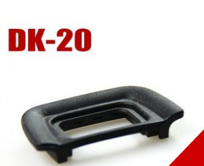 <font><b>Rubber</b></font> <font><b>Viewfinder</b></font> <font><b>Eyepiece</b></font> DK20 <font><b>Eyecup</b></font> <font><b>Eye</b></font> <font><b>Cup</b></font> <font><b>as</b></font> DK-20 For Nikon DK 20 D5300 D5200 D5100 D3100 D3000 D60 D50 PB423