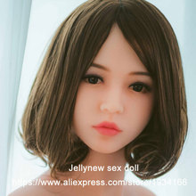 silicone doll head,sex toys for men,sexy lips,Tongue,adult products,oral depth 13cm,Fit body :153,156,158,160,161,163,165,168cm