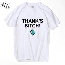 HanHent Thanks Bitch Print Men's T shirts Breaking Bad Jesse pinkman Fashion Cotton Clothing 2018 Summer New T Shirt  TA0490