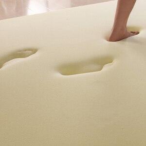 Image 5 - NOYOKE yatak Tatami yatak odası mobilyası yatak Topper bellek köpük katlanabilir uyku yatak 5cm kalınlığı 1.5M yatak