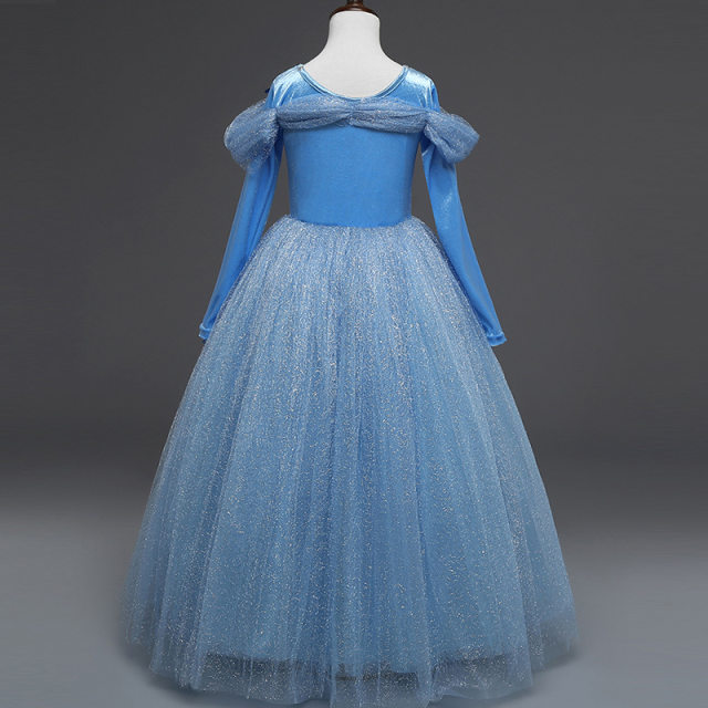 Online Shop Princess Cinderella Fancy kids Dresses Ball Party Wear ...