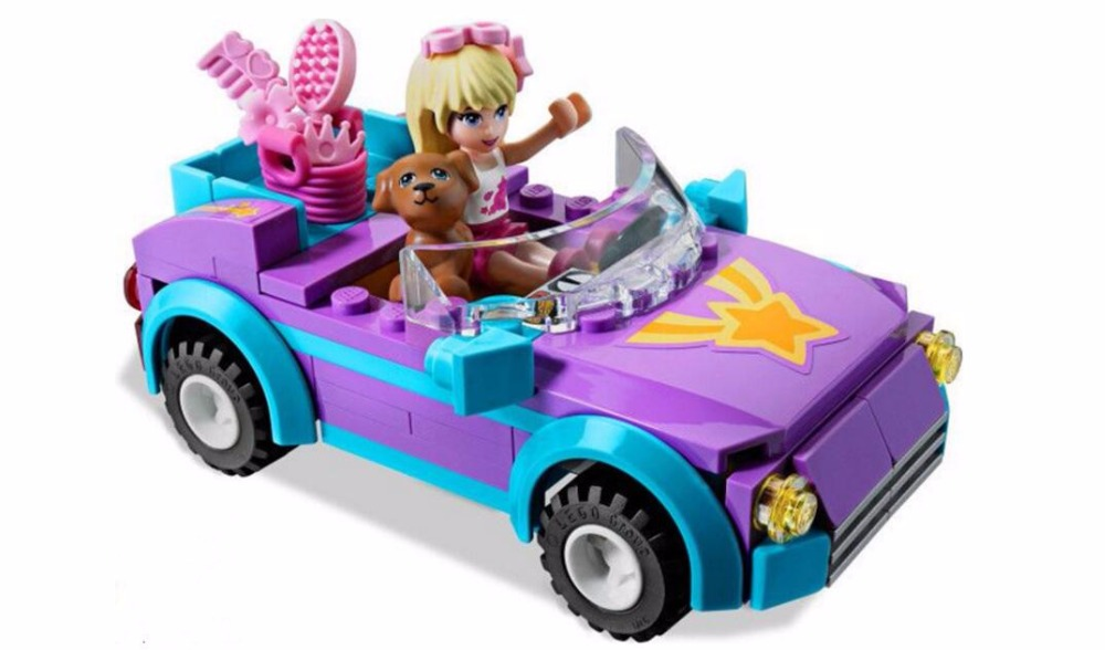 129Pcs Girls Gift Games Toys For Children Boy Action Toy Figures Sports Car Building Blocks Classic Bricks Boy Toy