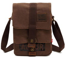 купить AUGUR FASHION TENDER 2016 Outdoor Crossbody canvas Leisure time shoulder bag Retro style men messenger bag men sport bag 9009 дешево