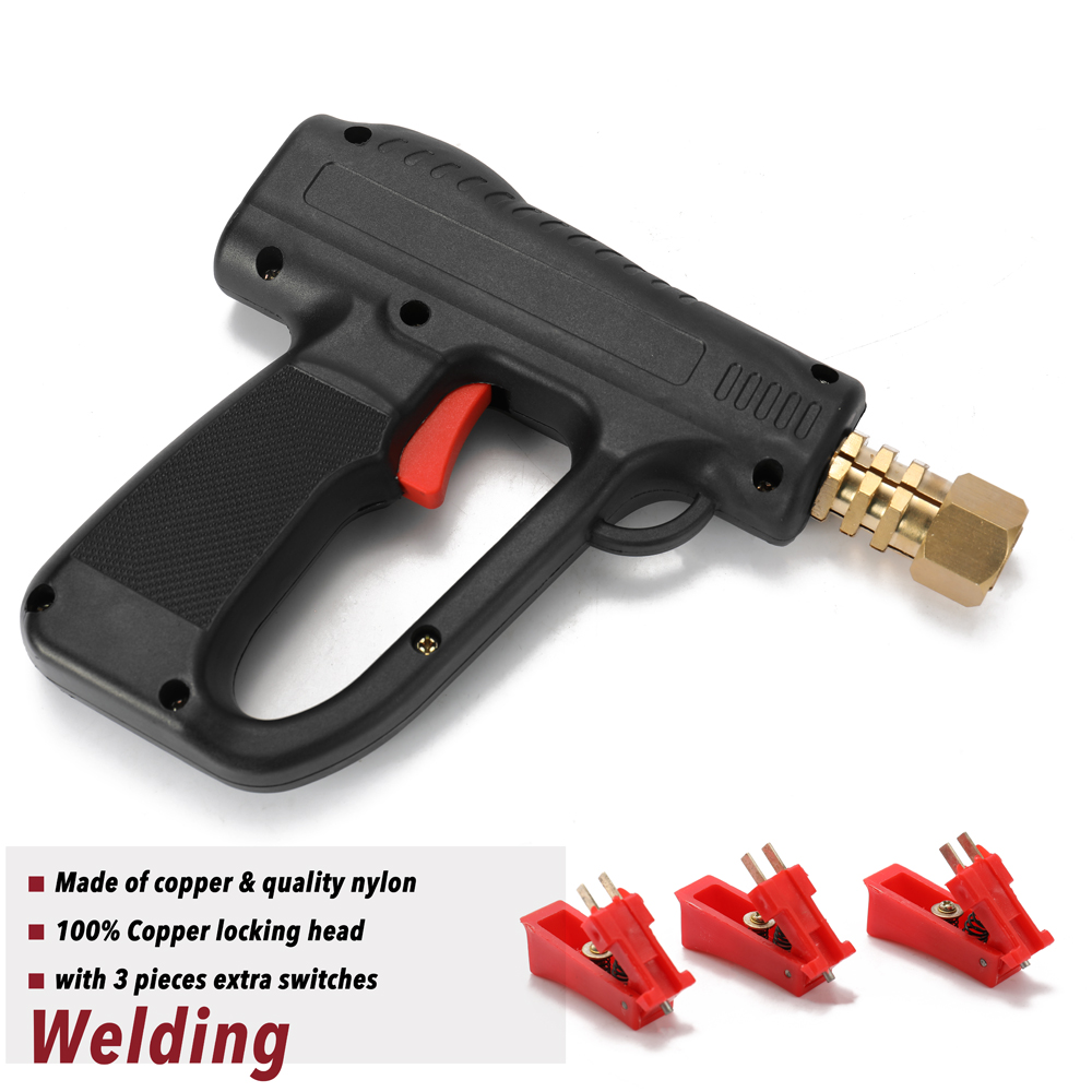 Dent Puller Kit Car Body Repairing Tools Spot Welding Electrodes Spotter Welder Machine Removing Straightenging Dents Remover 81