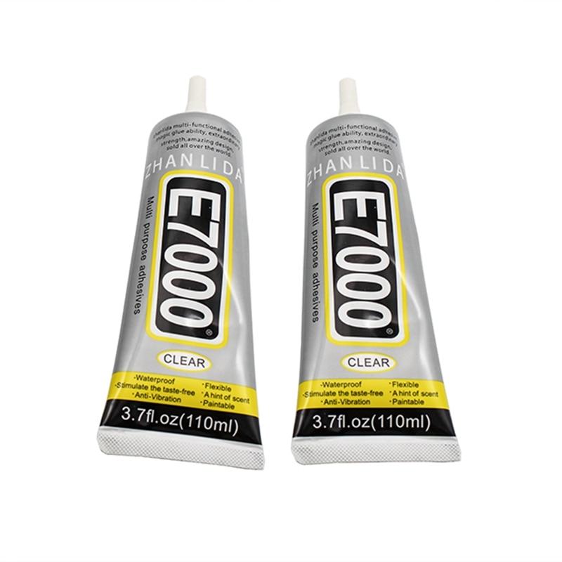 110ML E7000 Accessories diy drill point drill glue plastic plastic acrylic EVA glue wood soft glue decorative plastic evade glue fancy pets moulds