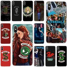 Riverdale South Side Serpents Cover Soft Silicone TPU Phone Case For iPhone 5 5S 5C SE 6 6plus 7 8plus X XS XR XS Max(China)