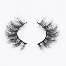 2 Pairs Natural Long Makeup 3D Mink Eyelash Extension