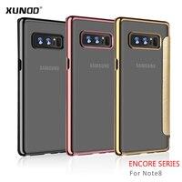 XUNDD Telefon Kılıfı Kabuk Için Orijinal Lüks Kapak kapak Samsung Galaxy Not 8 Koruyucu Kılıf Renkli 6.3 Inç Arka Kapak