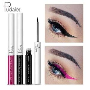 Pudaier Eyeliner liquide imperméable yeux maquillage beauté Comestics longue durée pas floraison Eye Liner crayon quotidien maquillage outils