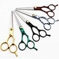 New Парикмахерская Волос Ножницы Салон Ножницы Ножницы Clipper Парикмахерских Истончение Набор 15 Моделей на Выбор Стилист