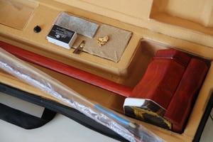 Image 5 - Erhu סיני כלי נגינה Rosewood Eerheen עם קשת וקשה מקרה שני מיתרי סין סגנון כינור לשלוח stduy ספר
