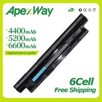 Apexway Laptop Battery for Dell Inspiron 15 3521 3421 FW1MN MR90Y 6HY59 6K73M 6KP1N 4DMNGPVJ7J G019Y G35K4 6XH00 8RT13 8TT5W