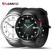 "2017 LEMFO LES1 Bluetooth Smart Uhr MTK6580 1,39 ""OLED Runde Unterstützung Sim-karte Für Android IOS Telefon"