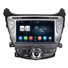 "Octa Core 2 din eight"" Android 6.zero Automobile Radio DVD GPS for Hyundai Elantra 2014 With 2GB RAM Bluetooth WIFI USB 32GB ROM Mirror-link"