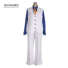 One Piece Aokiji White Cosplay Costume