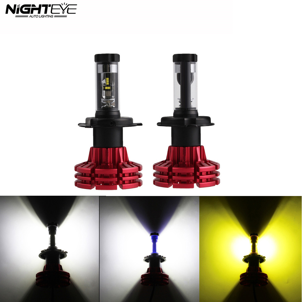 NIGHTEYE 2X 9006 HB4 LED Headlight Kit Light Lamp Bulb Low Beam White 50W 8000LM