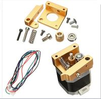 DuoWeiSi 3D Printer Parts MK8 Aluminum Extruder Kit With NEMA 17 Stepper Motor 1 75MM For