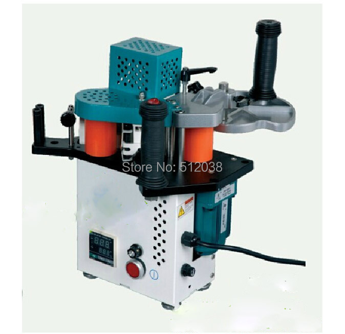 Woodworking JBT90 Portable edge bander machine with speed control model 110/220V  цены