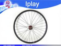 IPLAY promotion chinese Mountain Bike Wheel Hookless Carbon 29er Wheel 30mm wide tubeless Carbon MTB Wheels