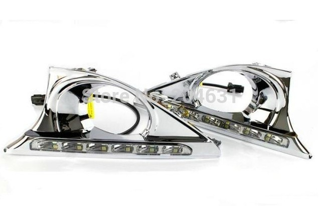 High quality LED Daytime running lights front Fog lamp Fog Lights For 2012 TO Camry (B style)