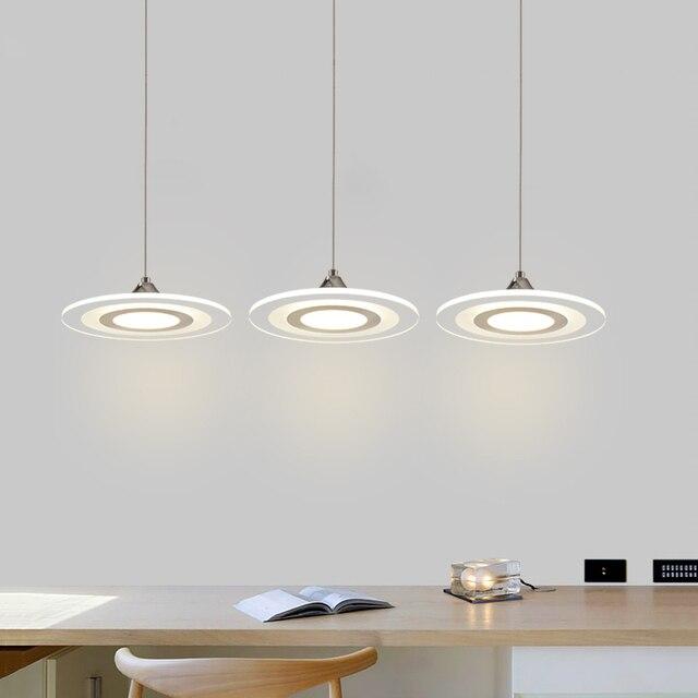 Moderno lampade a sospensione a led cavo della lampada sala da ...