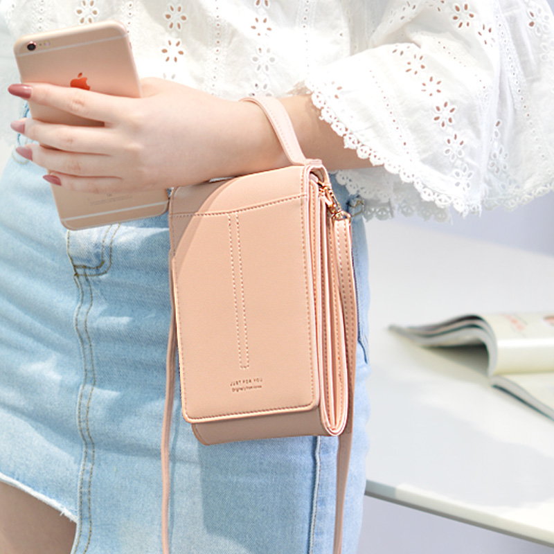 2019 New Pattern products inclined mobile phone bag girl fashion students single shoulder mobile phone bag trend pocket bag2019 New Pattern products inclined mobile phone bag girl fashion students single shoulder mobile phone bag trend pocket bag