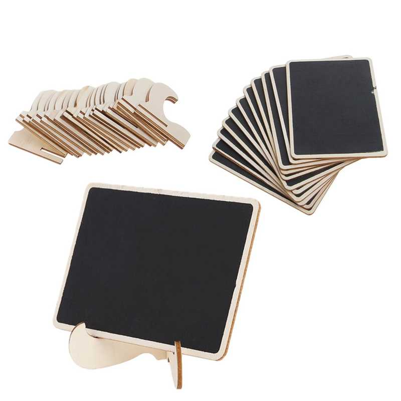 12 Mini Blackboard Place Card Holder Easel Wedding Party Chalkboard Table Number