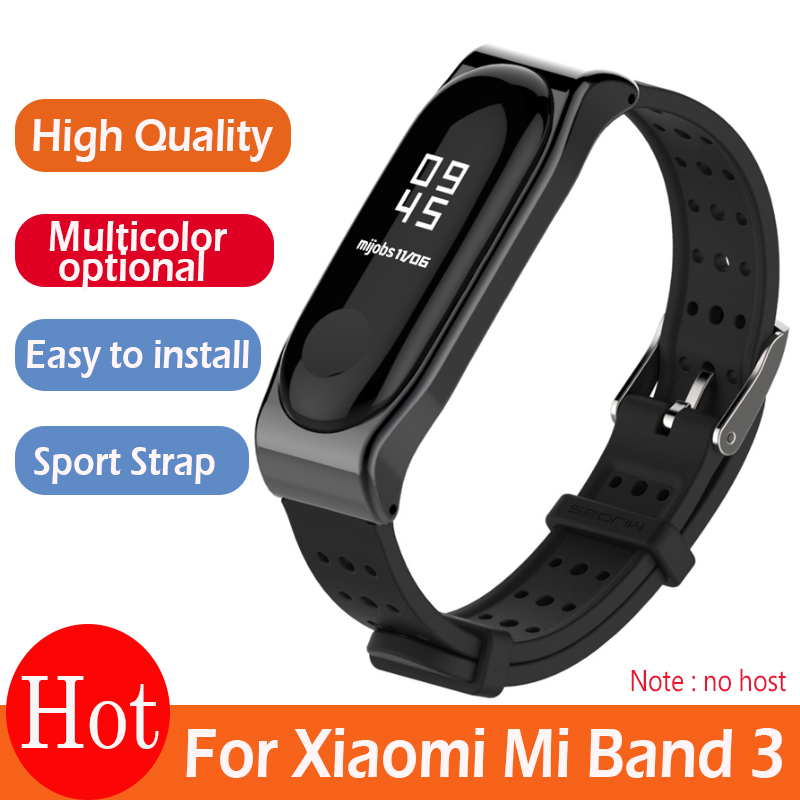 For Xiaomi Mi Band 3 Bracelet Strap Miband 3 Sports wristband Replacement strap For original Xiaomi Mi Band 3 Youth Strap-in Smart Accessories from Consumer Electronics