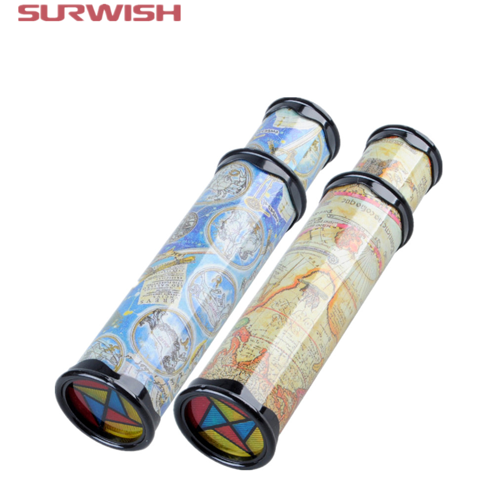 Surwish Big Size Plastic Stretchable Magic Kaleidoscope Kids Children Educational Toy – Random Delivery