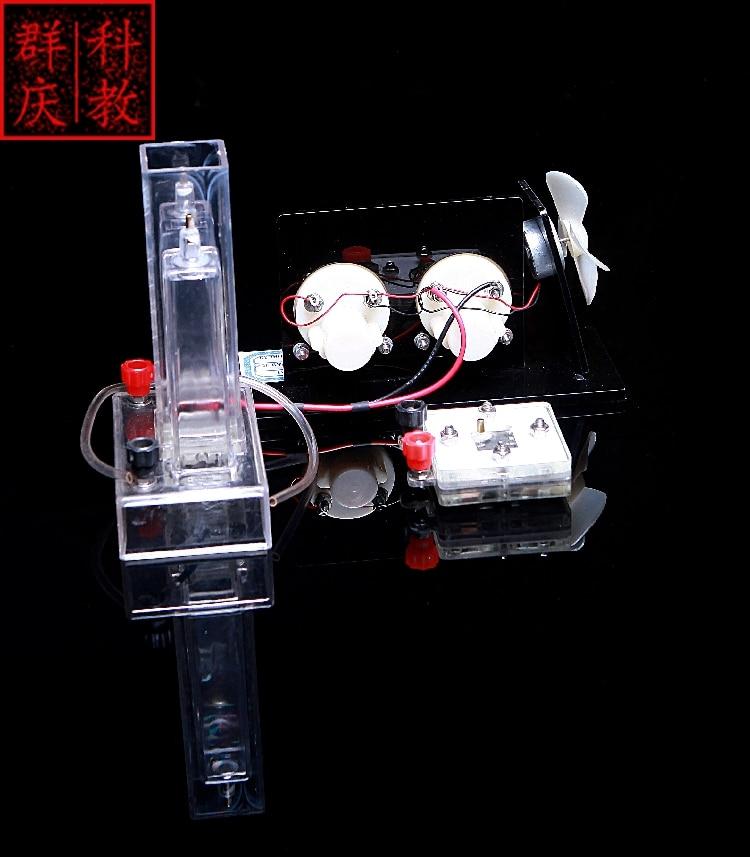 US $129 0 |Hydrogen Fuel Cell battery Demonstrator Hydrogen Demonstrator  Water Electrolysis High School Teaching Instrument-in Educational Equipment