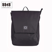8848 New Design Men Backpack College School Bag Black Waterproof High Quality Large Capacity Travel Backpack Male 126-048-001