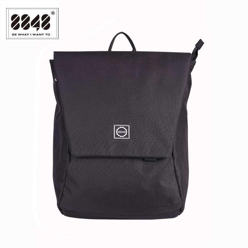 4dbec8c6ca 8848 New Design Men Backpack College School Bag Black Waterproof High  Quality Large Capacity Travel Backpack
