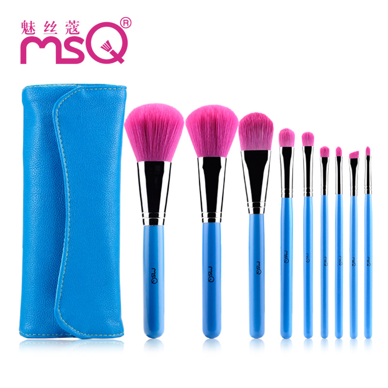 Makeup Brush Set 9Pcs Soft Synthetic Hair Multifunction Professional Cosmetic Make Up Brushes Maquiagem Brush Tools For Beauty addfavor acrylic handle beauty cosmetic face clean mask brushes eyes skin care make up tools soft makeup synthetic hair brush