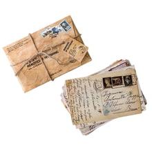 30pcs/pack Vintage Retro Memories Message Card Gift Cards Kraft Paper Postcards