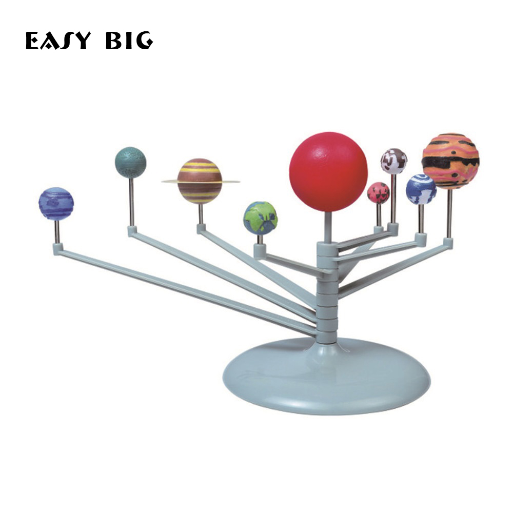 EASY BIG DIY Nine-planets Children Learning and Education Toys Planetarium Intelligence Science Toys TH0038