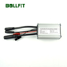 BOLLFIT 36/48V 14A 6 Mosfets Whole Water Proof Plug KT Controller 250W/350W Motor Electric Bicycle Accessories