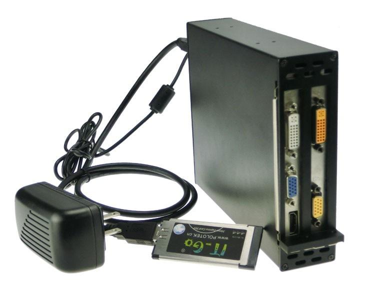 Laptop Expresscard 34 To 2 PCI 32bit slots adapter Express ...