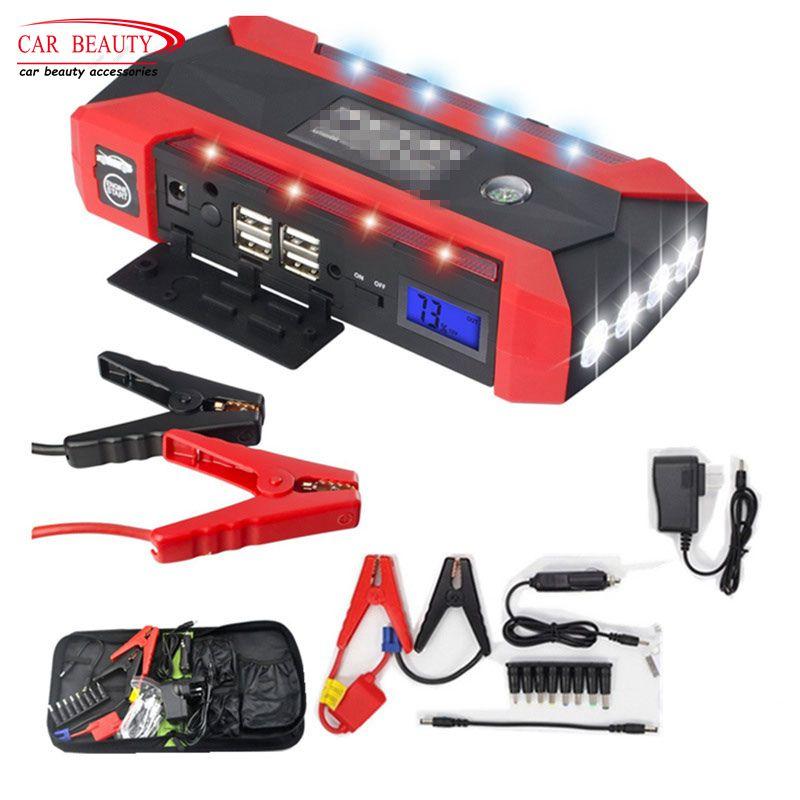 Démarreur voiture de Saut batterie externe 600A Pic 20000 mAh Portable De Voiture amplificateur de batterie 12 V Chargeur De Voiture Dispositif de Démarrage Démarreur
