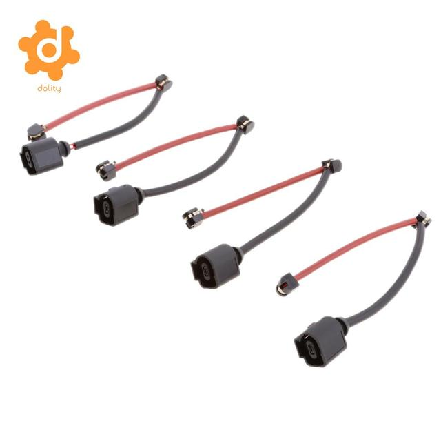 edcfad5e2b US $10.54 20% OFF 4 Pieces Front Rear Brake Pad Wear Sensor Indicator Wire  For Audi Q7 VW Touareg -in Speed Sensor from Automobiles & Motorcycles on  ...