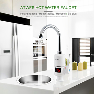 Image 5 - ATWFS Instant Hot Water Heater Tap Fast Instantaneous Thermostat for Water Heater 3000w Electrical Faucet Temperature Display