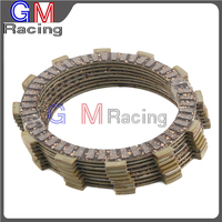 Motorcycle Friction Clutch Plates Disc For HONDA CRF250R CRF 250R 2008 2009 2010 2011 2012 2013 2014 2015 CRF250X CRF 250X 04 15