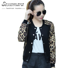 2017 Flower Print Plus big Size Baseball short Jacket Women Round Collar Button Thin Bomber Jackets Long Sleeves girl Coat