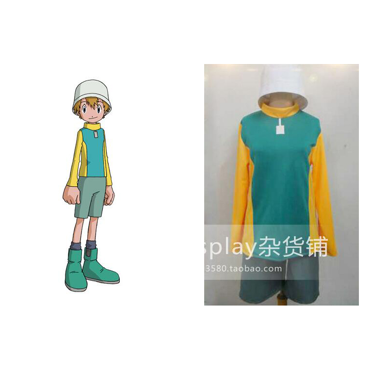 2016 Digimon Adventure T.K. Takaishi Takeru Takaishi Cosplay Costume Tailor made