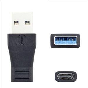 Image 3 - USB סוג C זכר ונקבה ל usb 3.0 זכר יציאת מתאם USB 3.1 סוג C כדי USB3.0 סוג  מתאם USB C כבל מתאם ממיר